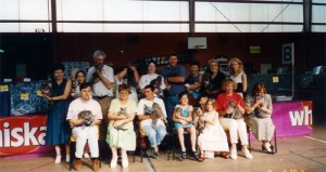 Premier Spectacle du Bleu Russe en 1995